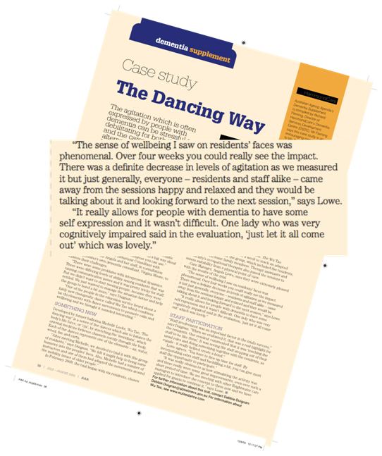 Case Study- The Dancing Way